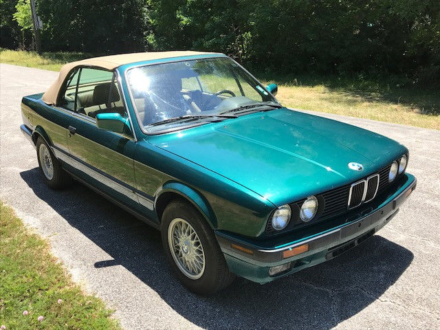 1991 bmw 325i convertible automatic rust free 2 owner. Black Bedroom Furniture Sets. Home Design Ideas