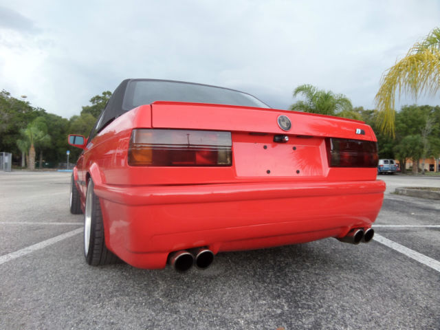 1991 Bmw 325i Convertible E30 With Rare Hardtop Classic
