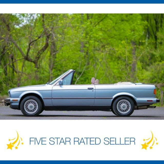1991 BMW 325ic E30 Convertible Low 73K Mi Sport Auto 325