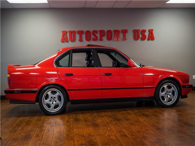 1991 Bmw 5 Series M5 Brilliant Red Straight 6 Cylinder