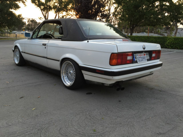 1991 bmw e30 325i hard top convertible california rust free classic bmw 3 series 1991 for sale. Black Bedroom Furniture Sets. Home Design Ideas