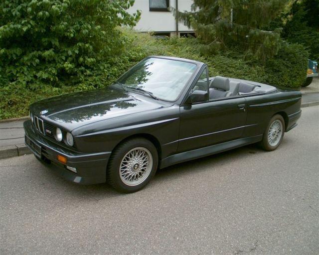 1991 BMW E30 M3 Cabriolet