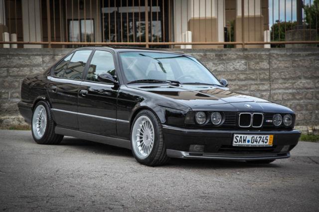 1991 Bmw E34 M5 Euro Spec 12 500mi Black Black Alpina