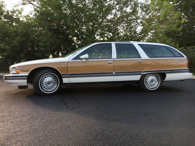 1991 BUICK ROADMASTER STATION WAGON WOODY LEATHER LOW ...