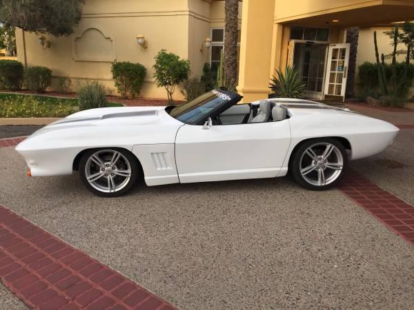 1991 C4 Corvette With C2 Body Kit Classic Chevrolet