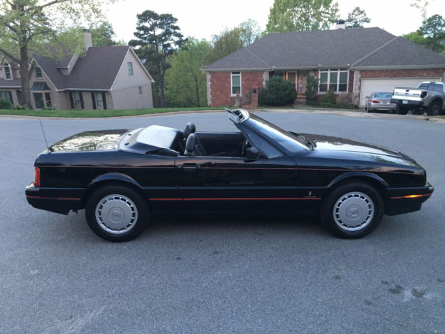 1991 cadillac allante convertible 4 5 v8 caddy droptop