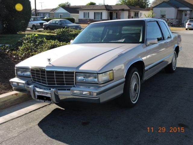 1991 Cadillac Coupe Deville 49k Original Miles 2 Door