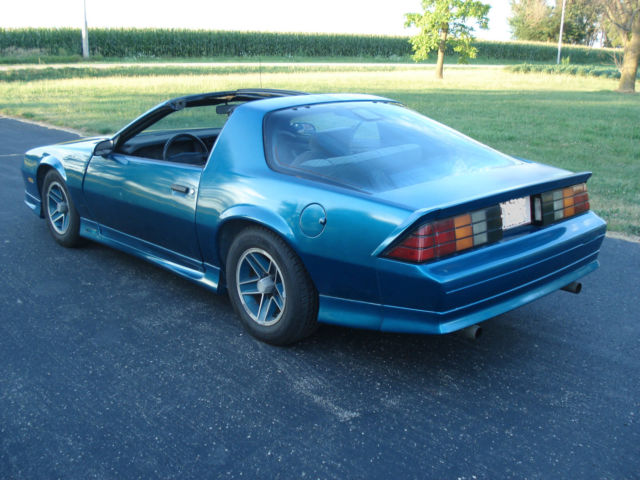 1991 camaro rs 50 305 v8 5 speed manual ttops