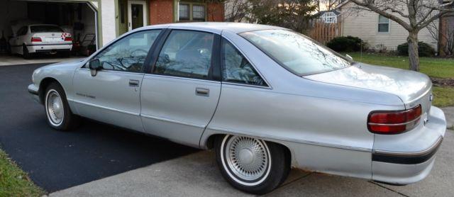 1991 CHEVROLET CAPRICE CLASSIC 5 0L V8 46K MILES 1 OWNER