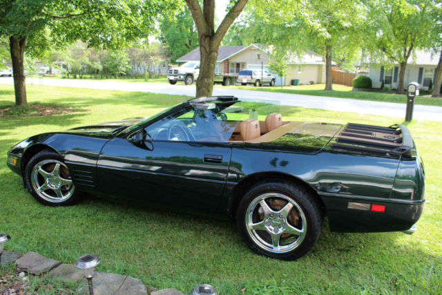 Chevrolet Corvette Convertible C Dark Polo Green With Custom Striping