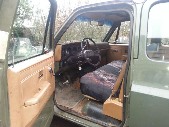 1991 Chevrolet V3500 Cheyenne Crew Cab Pickup 4-Door 6.2L ...