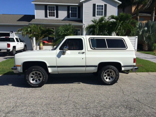 1991 chevy k5 blazer 4 wheel drive no reserve automatic classic chevrolet blazer 1991 for sale. Black Bedroom Furniture Sets. Home Design Ideas