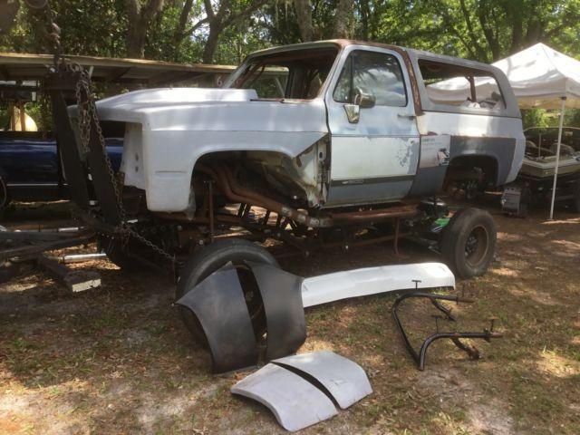 1991 Chevy K5 Blazer Monster Project 4 Link 25 Ton Rockwells Full