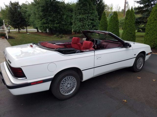 1991 Chrysler Lebaron Convertible Clic
