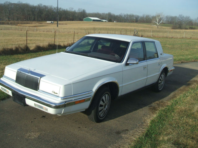 1991 chrysler new yorker salon sedan 4 door 3 3l classic
