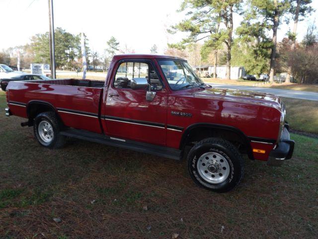 1991 dodge ram truck classic dodge ram 2500 1991 for sale. Black Bedroom Furniture Sets. Home Design Ideas