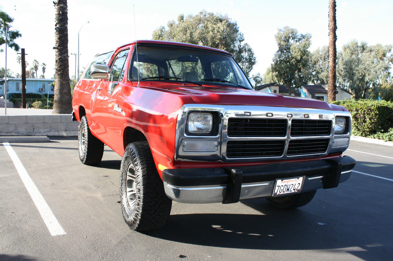 Dodge Ice Charger >> 1991 Dodge Ramcharger Base Sport Utility 2-Door 5.2L 4x4 - Classic Dodge Ramcharger 1991 for sale