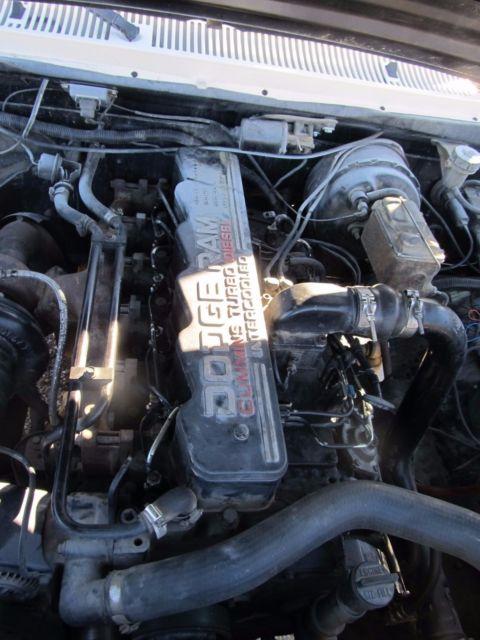 1991 Dodge W250 4x4 Intercooled 12 Valve Cummins Turbo ...