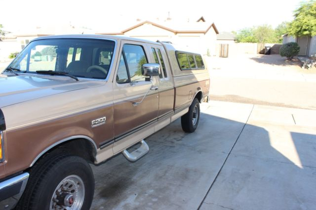 1991 F 250 4X4 XLT LARIAT EXTENDED CAB LONG BED - Classic ...