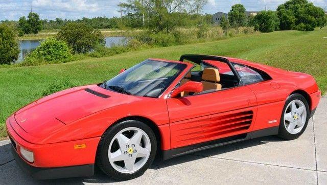 12k In Miles >> 1991 Ferrari 348 Ts 12k Miles Rosso Corsa Collector Quality