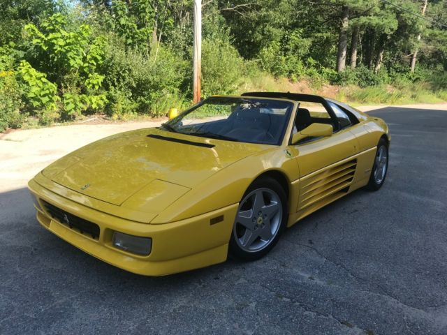 1991 Ferrari 348 TS Yellow/Black Brand New Clutch Fully