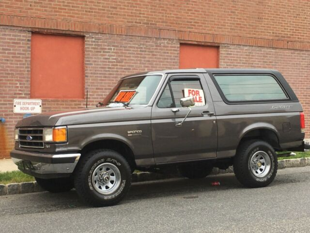 1991 Ford Bronco XLT Full Size - Classic Ford Bronco 1991 ...
