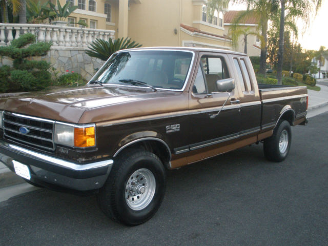 1991 Ford F-150 XLT 4X4 Lariat Extended Cab Pickup 2-Door ...