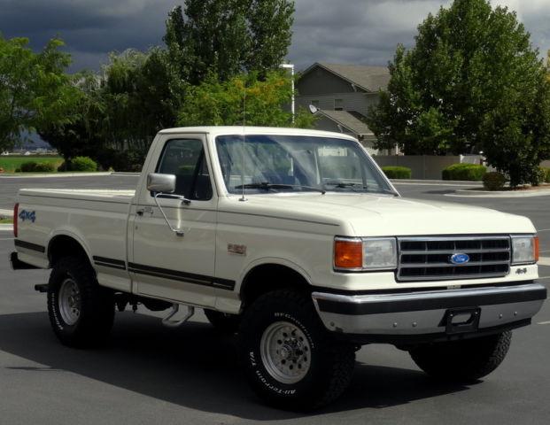 1991 Ford F150 4x4 Xlt Lariat 60 000 Original Miles