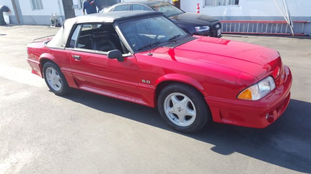 1991 Ford Mustang Gt 5 0 Convertible 5 Speed Brand New 2