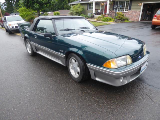 1991 Ford Mustang Gt Convertible Fox Body 5 0 Fresh Rebuilt