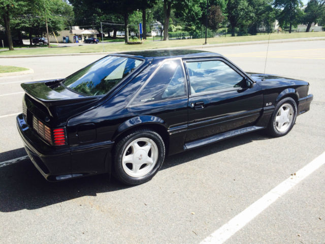 1991 ford mustang gt hatchback 2 door 5 0l foxbody 87 93 classic ford mustang 1991 for sale. Black Bedroom Furniture Sets. Home Design Ideas