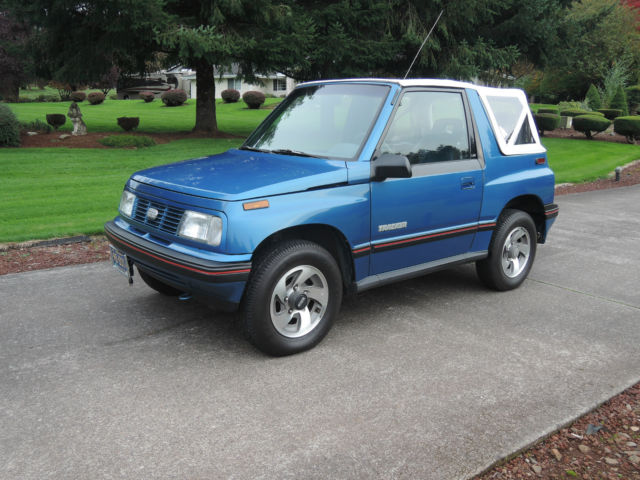 1991 geo tracker lsi 4x4 very nice