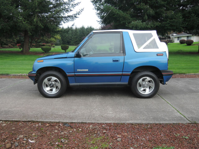 1991 geo tracker lsi 4x4 very nice classic geo tracker 1991 for sale. Black Bedroom Furniture Sets. Home Design Ideas
