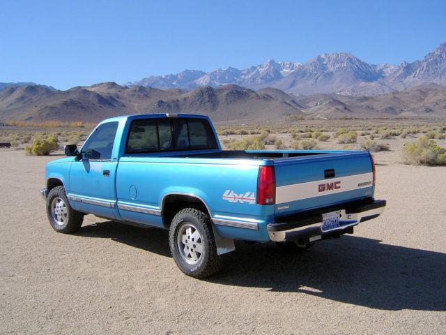1991 Gmc 1500 4x4 Sierra Pickup Truck Cheverolet 350 V8 At