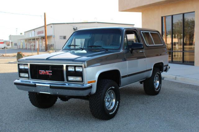 1991 Gmc Jimmy Blazer K5 Rust Free Arizona Truck
