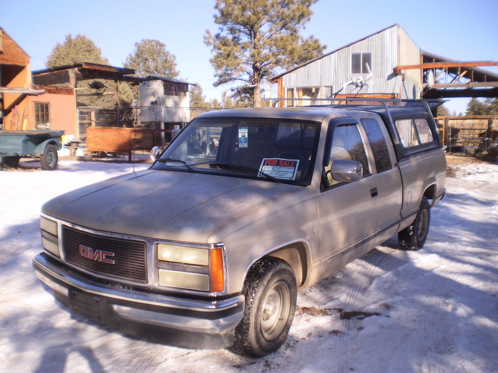 1991 Gmc Sierra Sle1500 Crew Cab Classic 4x2 Not Chevy K1500 Or 3500 Chevrolet Prevnext