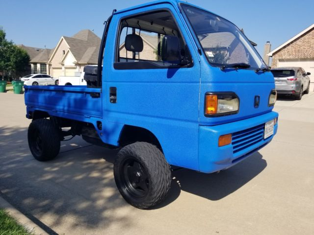 1991 Honda Acty 4x4 JDM Kei Truck Street Legal Clean Texas