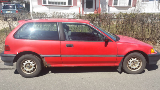 1991 honda civic base hatchback 3 door 1 5l parts project car classic honda civic 1991 for sale. Black Bedroom Furniture Sets. Home Design Ideas