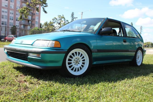 1991 Honda civic dx hatchback jdm B16A lsd transmission ...