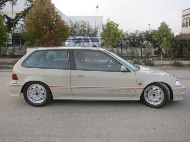 1991 Honda Civic Si Hatchback~ Vtec (TYPE R)~ Mugen NR-10~ VERY CLEAN!!! - Classic Honda Civic ...