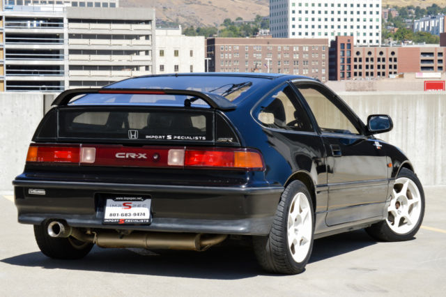Think crx si tranny very