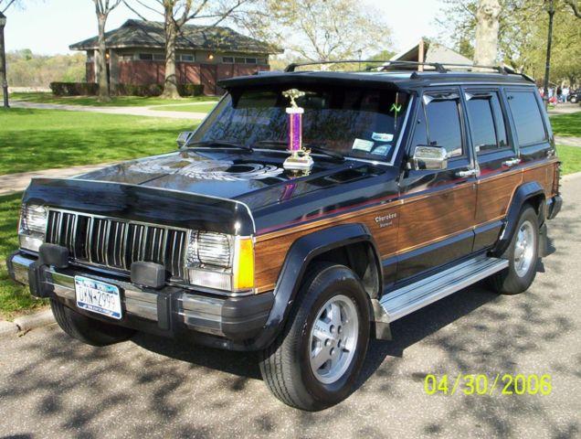1991 Jeep Cherokee Briarwood 4 Door 4x4 4 0l Needs Front