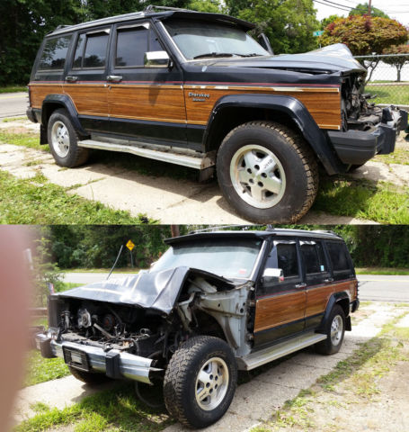 Jeep Cherokee Sport For Sale >> 1991 Jeep Cherokee Briarwood 4-Door 4X4 4.0L NEEDS FRONT ...