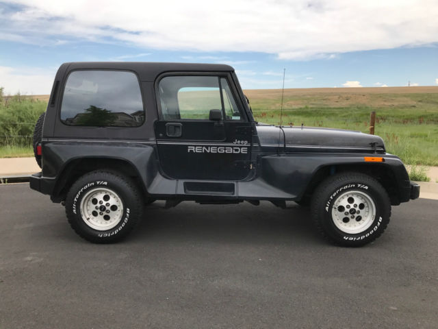 1991 jeep wrangler renegade package classic jeep. Cars Review. Best American Auto & Cars Review