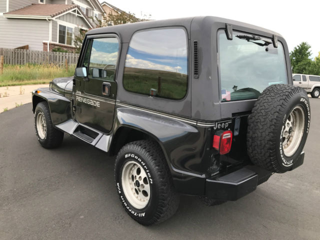 1991 jeep wrangler renegade package classic jeep wrangler 1991 for sale. Black Bedroom Furniture Sets. Home Design Ideas