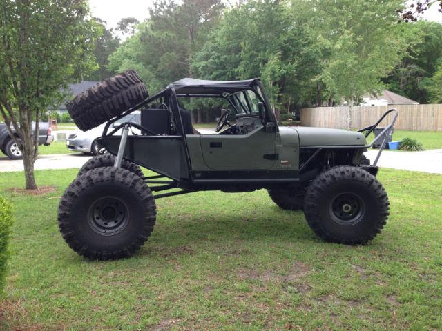 1991 Jeep Wrangler Rock Crawler Classic Jeep Wrangler