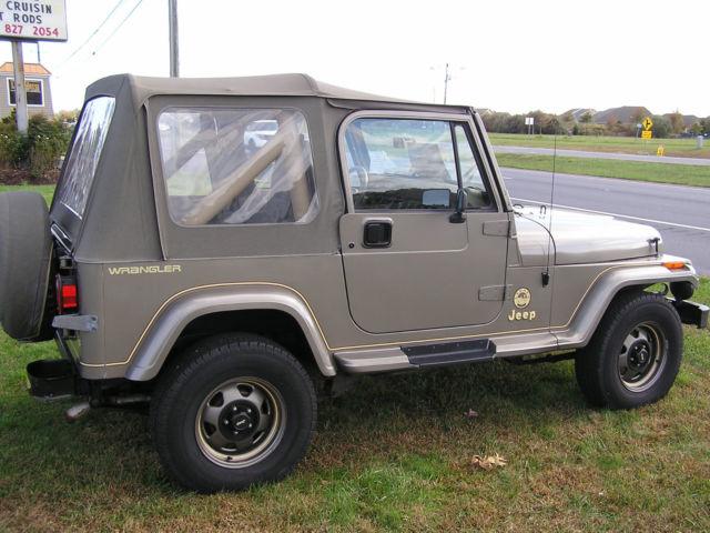 1991 Jeep Wrangler Sahara Garage Kept Same Owner Last 24