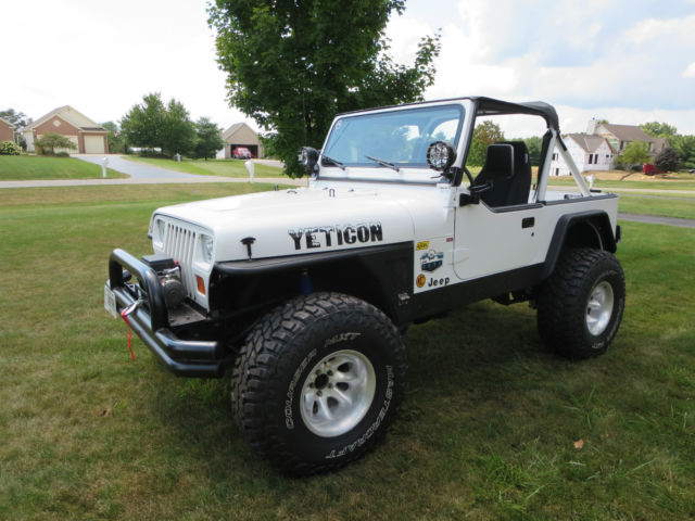 1991 Jeep Wrangler Yj Convertible Chevy 327 V8 Th350