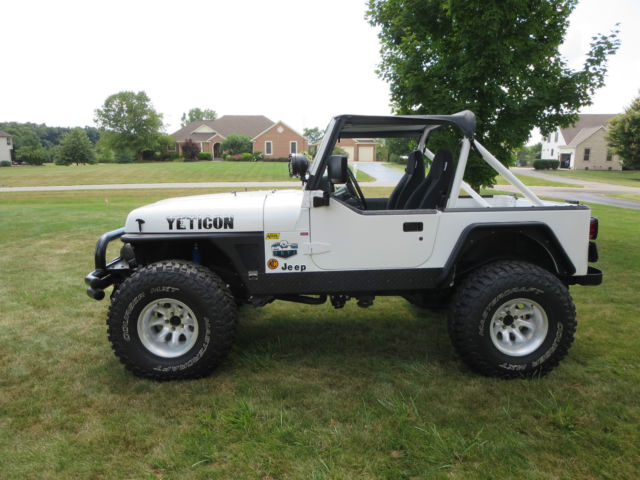 1991 jeep wrangler yj convertible chevy 327 v8 th350 automatic great project classic jeep. Black Bedroom Furniture Sets. Home Design Ideas