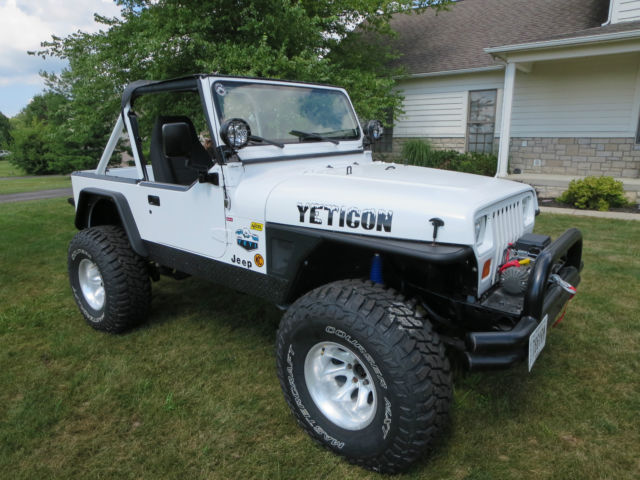 1991 Jeep Wrangler Yj Convertible Chevy 327 V8 Th350